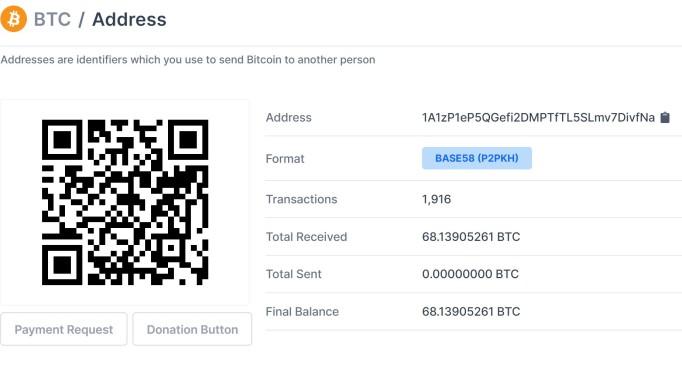 genesis-block-address